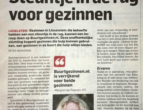 Steuntje in de rug voor gezinnen – AD Utrecht