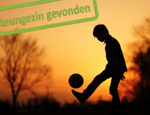 Steungezin gezocht voor sportieve jongen