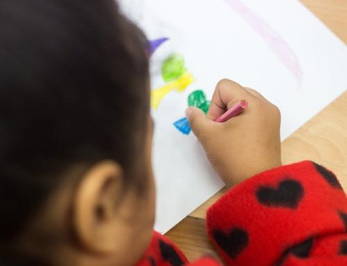 Wie helpt mij om mij hier thuis te voelen? – meisje 6 jaar