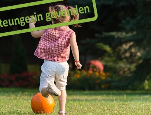 Steungezin gezocht voor zesjarig meisje