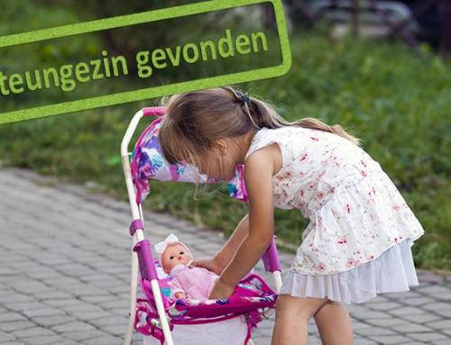 Gezocht: steungezin voor meisje van vier
