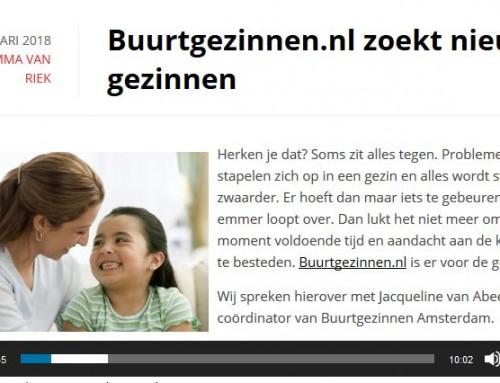 Buurtgezinnen.nl zoekt nieuwe gezinnen – Amsterdam FM