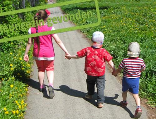Gezocht: Een fijne steunouder/actieve oma voor een warm, rustig gezin met 3 jonge kinderen