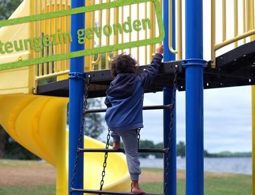 In welke gezin in Rhenen is vrolijke (bijna) vierjarige kleuter welkom?