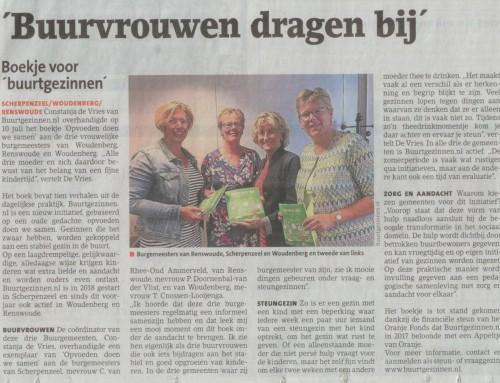 'Buurvrouwen dragen bij' – Scherpenzeelse krant