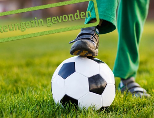 Gezocht: steungezin voor energiek voetballertje van zes jaar