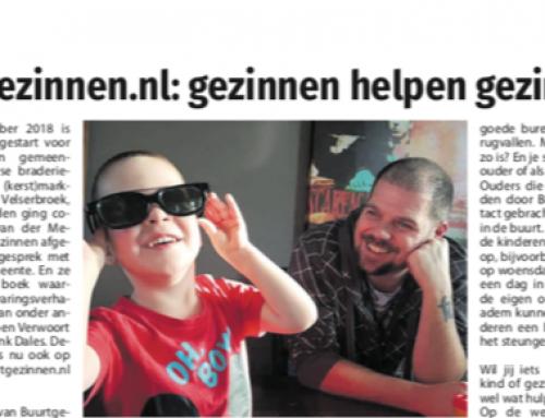 Buurtgezinnen.nl: gezinnen helpen gezinnen – Jutter/Hofgeest
