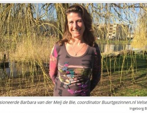 Gezinnen ondersteunen gezinnen – Nieuwsblad IJmuiden