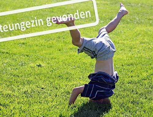 In welk speelgezin in Houten is deze vrolijke 6 jarige jongen welkom!