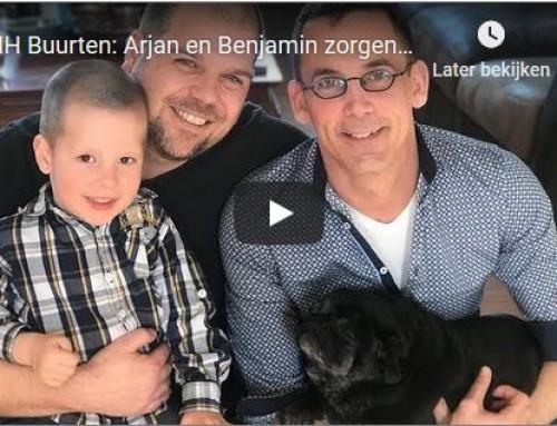 NH Buurten: Arjan en Benjamin zorgen voor het kind van overbelast gezin