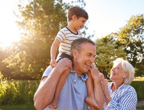 Opa en oma gezocht