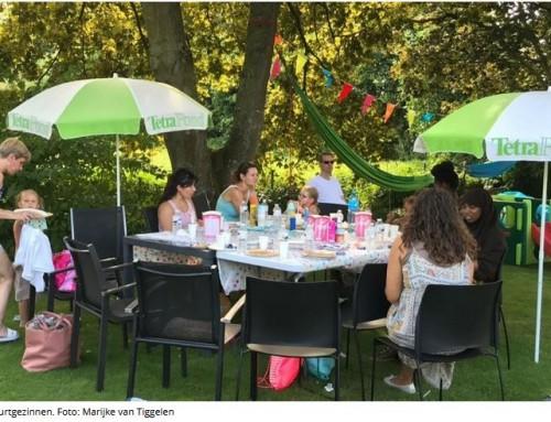 Speciale gast voor feest van Buurtgezinnen – Trefpunt Houten