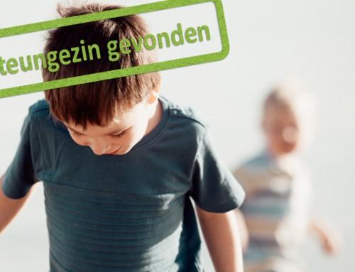 Steungezin gezocht voor twee jongens van 7 en 3 jaar