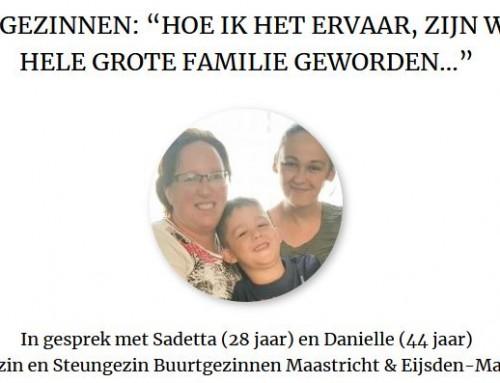 """""""Hoe ik het ervaar, zijn we een hele grote familie geworden…"""" – CJG 043"""