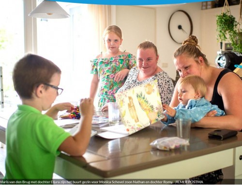 Even tot rust komen met hulp van een ander gezin – Friesch Dagblad