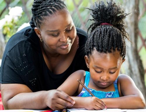 Steungezin gezocht voor moeder en dochter 8 uit Wheermolen