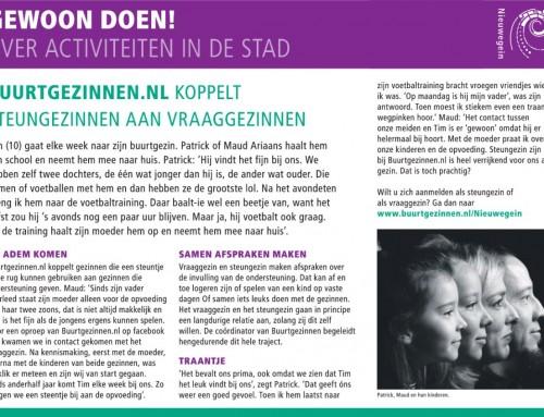 Buurtgezinnen.nl koppelt steungezinnen aan vraaggezinnen – Molenkruier.nl