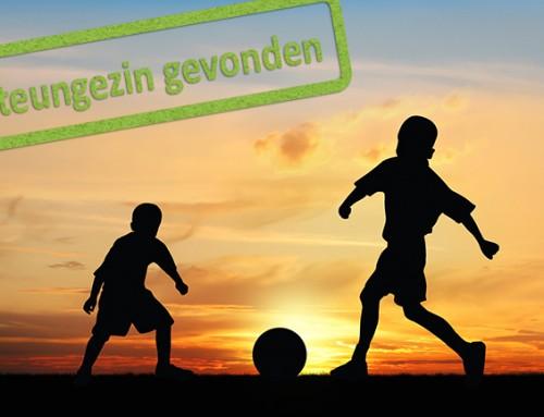 Steungezin gezocht voor 2 sportieve jongens