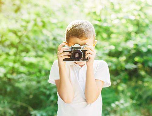 Steungezin gezocht voor een rustige jongen van 9 die van fotografie houdt