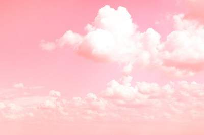roze wolk