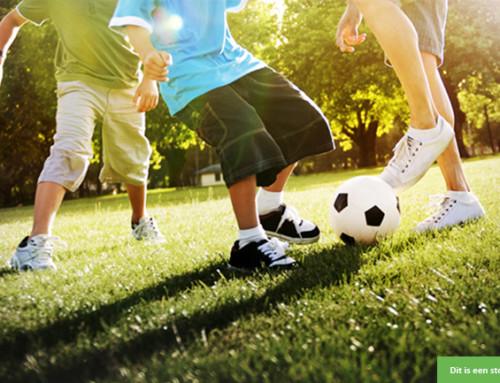 Waar kan deze jongen (8) zijn voetbalkunsten oefenen?