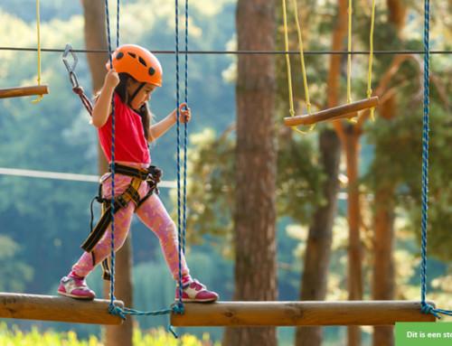 Zin in een paar actieve vakantiedagen met een vrolijk meisje?