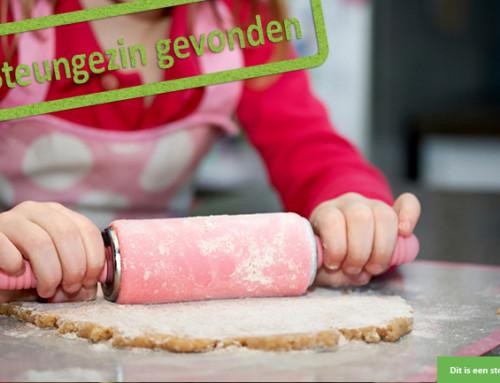 Welk culinair gezin wil met dit meisje cakejes bakken?